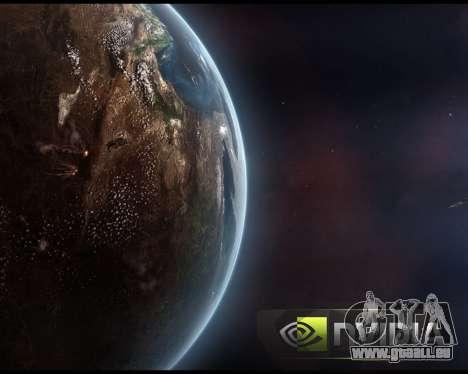 De nouveaux écrans de démarrage de l'Espace pour GTA San Andreas septième écran