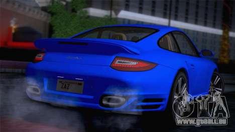 Porsche 911 Turbo Bi-Color pour GTA San Andreas sur la vue arrière gauche