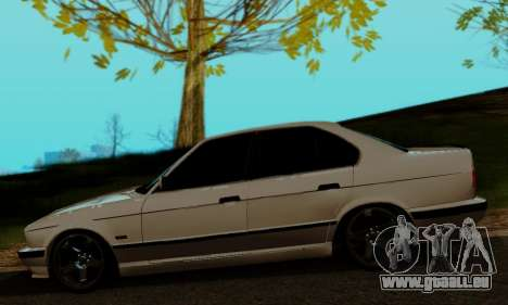 BMW 525 Re-Styling für GTA San Andreas zurück linke Ansicht