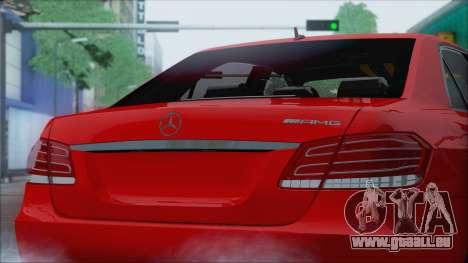 Mercedes-Benz E63 AMG 2014 für GTA San Andreas Rückansicht