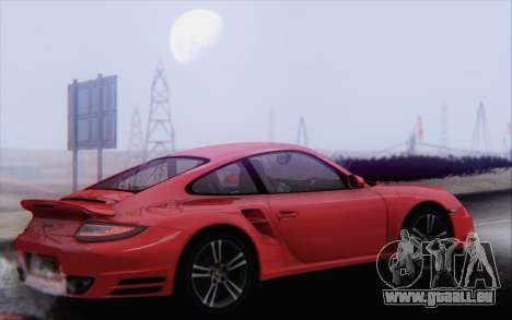 Porsche 911 Turbo pour GTA San Andreas salon