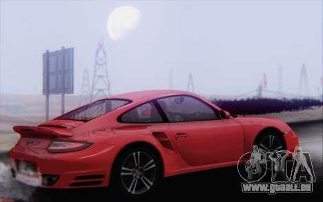 Porsche 911 Turbo pour GTA San Andreas salon