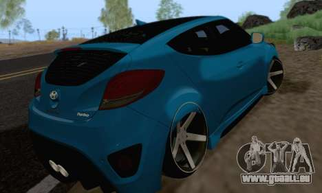 Hyundai Veloster für GTA San Andreas rechten Ansicht