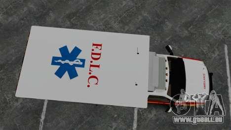 Ford F-250 Super Duty FDLC Ambulance [ELS] pour GTA 4 est un droit