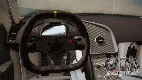 Audi R8 LMS v2.0.4 DR pour GTA San Andreas salon