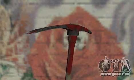 Pickaxe pour GTA San Andreas troisième écran