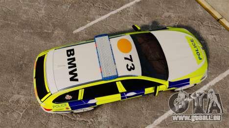 BMW 530d Touring Lancashire Police [ELS] für GTA 4 rechte Ansicht