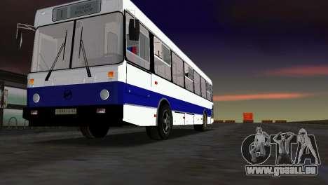LIAZ-5256 pour GTA Vice City sur la vue arrière gauche