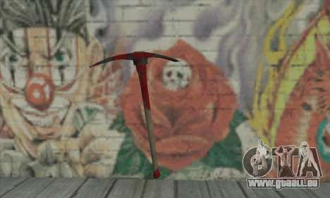 Pickaxe pour GTA San Andreas