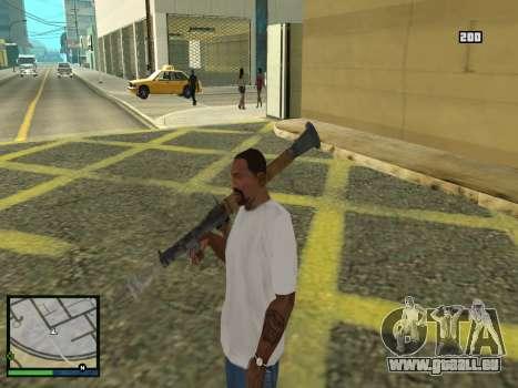 GTA 5 HUD v2 für GTA San Andreas siebten Screenshot
