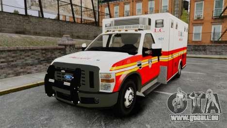 Ford F-250 Super Duty FDLC Ambulance [ELS] für GTA 4