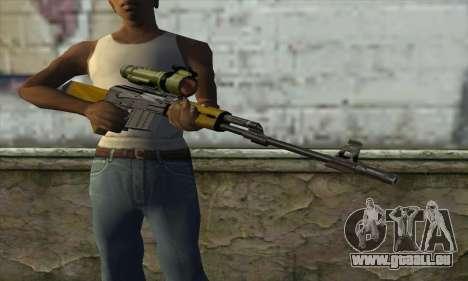 M76 pour GTA San Andreas troisième écran