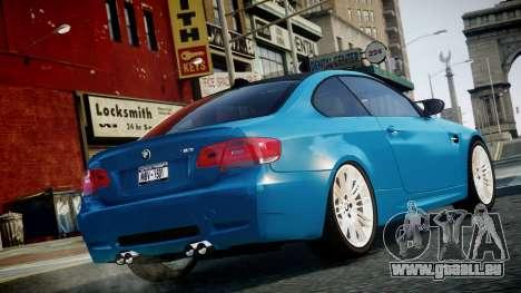 BMW M3 E92 für GTA 4 linke Ansicht