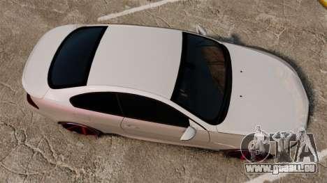 BMW M6 Vossen pour GTA 4 est un droit