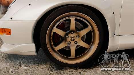 Porsche 993 GT2 1996 v1.3 für GTA 4 Rückansicht