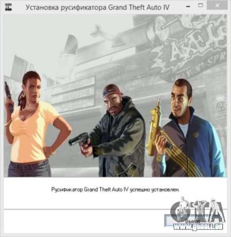 Crack pour GTA 4 à Vapeur pour GTA 4 sixième écran