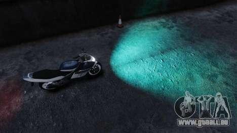 Wasser-Scheinwerfer für GTA 4 Sekunden Bildschirm
