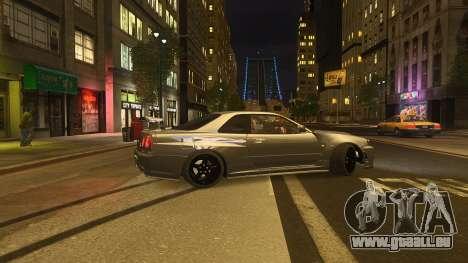 Nissan Skyline GTR-34 Nismo Z-Tune pour GTA 4 est un droit