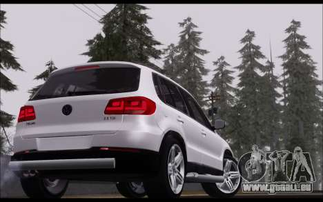 Volkswagen Tiguan 2012 für GTA San Andreas rechten Ansicht