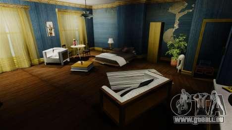Appartement rénové de Sud de Bohan pour GTA 4 troisième écran