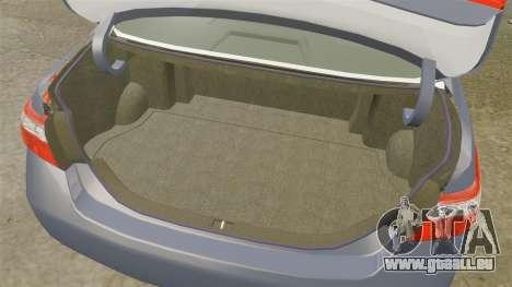 Toyota Camry pour GTA 4 est un côté
