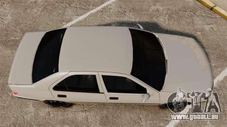 Peugeot 406 pour GTA 4 est un droit