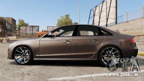 Audi S4 2013 Unmarked Police [ELS] pour GTA 4 est une gauche