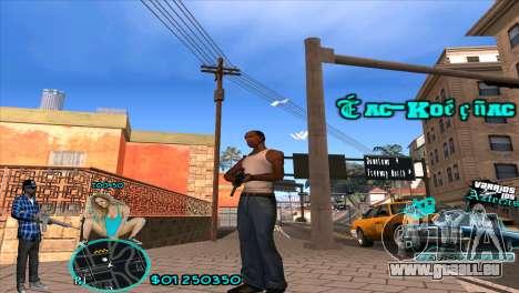C-HUD Aztecaz by HARDy für GTA San Andreas
