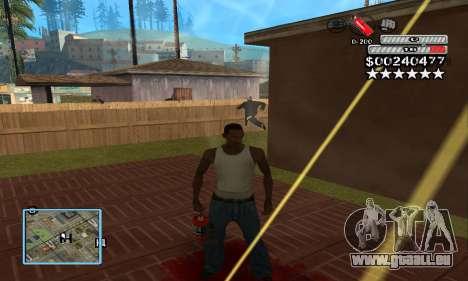 C-HUD by NickQuest für GTA San Andreas dritten Screenshot