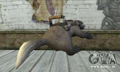 Tronçonneuse à partir de Postal 3 pour GTA San Andreas deuxième écran
