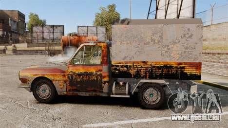 Anadol P2 500 (Rusty) für GTA 4 linke Ansicht