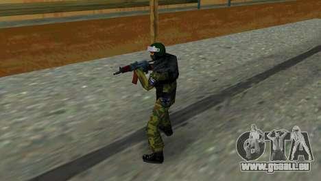 Soldat der Special Forces für GTA Vice City zweiten Screenshot