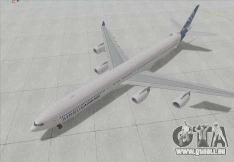 Airbus A340-600 pour GTA San Andreas laissé vue