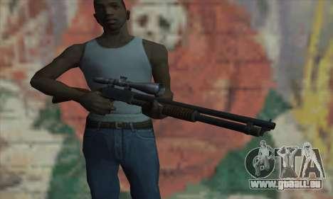 Shotgun Model 12 für GTA San Andreas dritten Screenshot