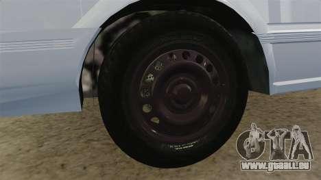 Nissan Tsuru pour GTA 4 Vue arrière