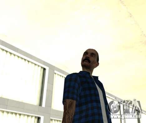 HMOST HD pour GTA San Andreas troisième écran
