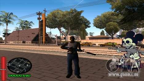 C-Hud Mickey für GTA San Andreas