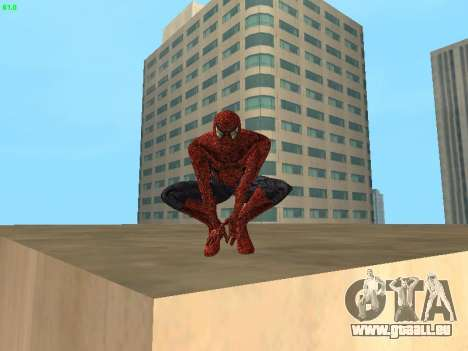 Spider-man pour GTA San Andreas