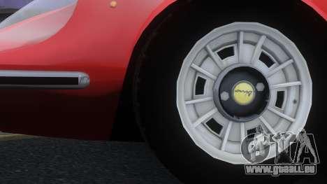 Ferrari Dino 246 GTS für GTA 4 rechte Ansicht