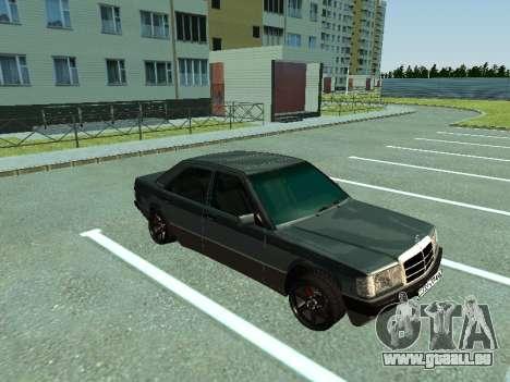 Mercedes-Benz E500 pour GTA San Andreas laissé vue