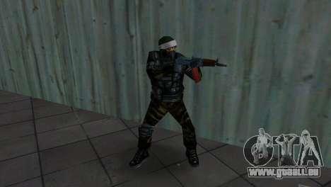 Kämpfer Alfa Antiterror für GTA Vice City Screenshot her