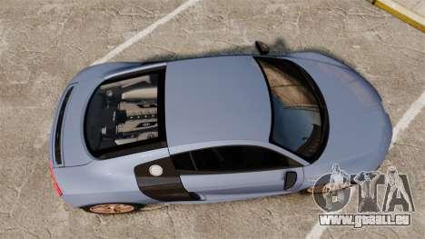 Audi R8 V10 plus Coupe 2014 [EPM] für GTA 4 rechte Ansicht