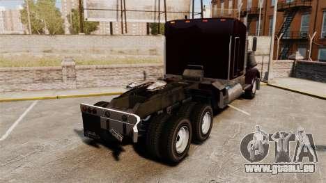 Phantom Zombie pour GTA 4 Vue arrière de la gauche