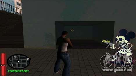 C-Hud Mickey für GTA San Andreas zweiten Screenshot