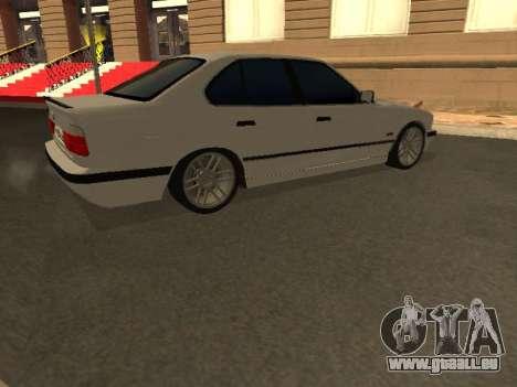 BMW 525 Smotra für GTA San Andreas Innenansicht