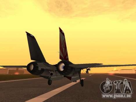F-14 Tomcat HQ pour GTA San Andreas vue de droite