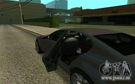GTA V Fugitive pour GTA San Andreas vue de droite