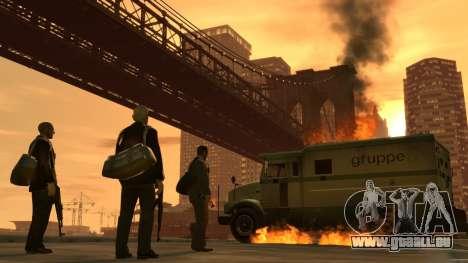 Les écrans de démarrage de GTA IV pour GTA 4 septième écran