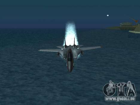 F-14 Tomcat HQ pour GTA San Andreas roue