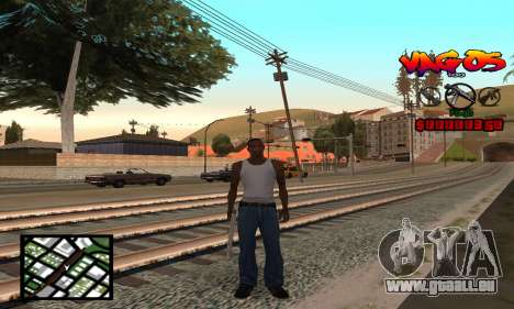 HUD Vagos pour GTA San Andreas
